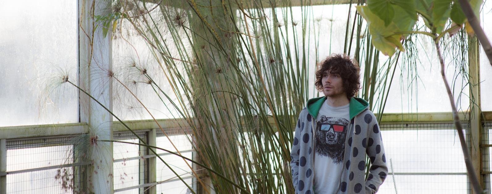 Ben Lee at the botanic gardens